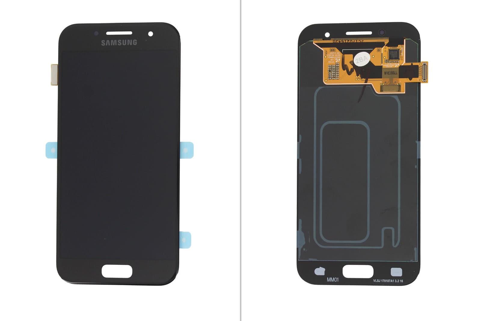 Дисплей Samsung Galaxy A3 2017 SM-A320 с тачскрином черный