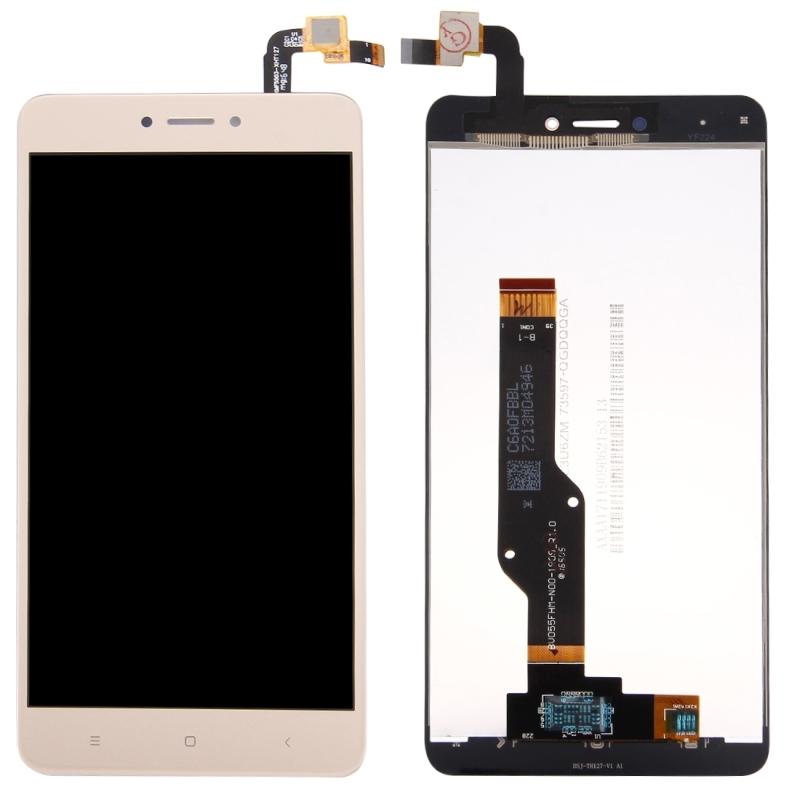 Дисплей Xiaomi Redmi Note 4x с тачскрином золотой