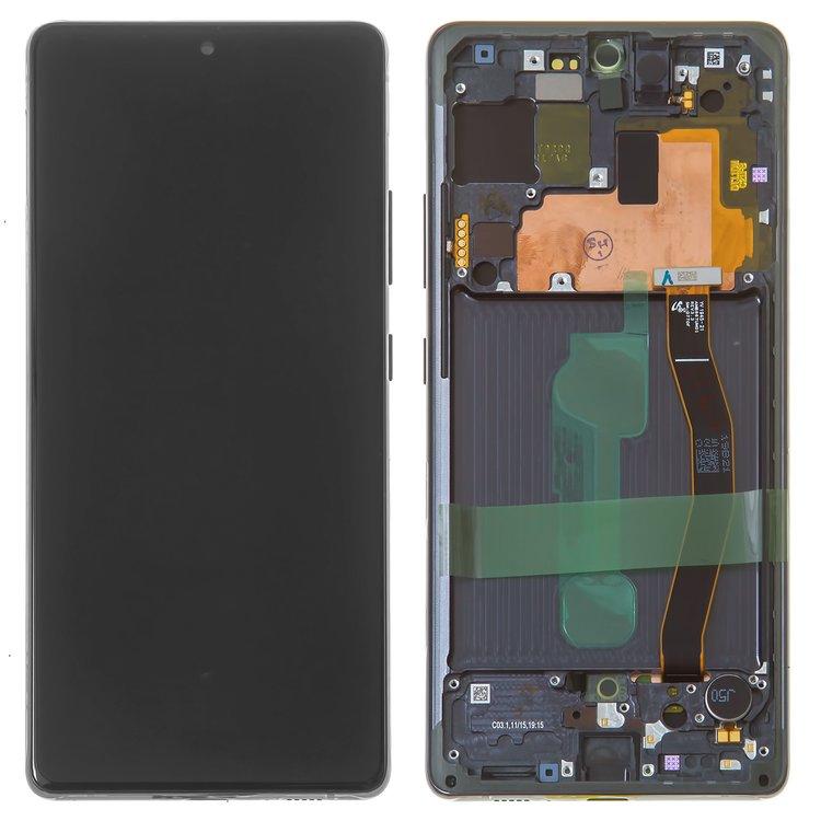 Дисплей Samsung Galaxy S10 Lite SM-G770 с тачскрином и рамкой