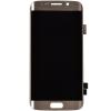 Дисплей  Samsung Galaxy S6 Edge SM-G925 с тачскрином золотой