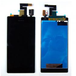 Дисплей Sony Xperia M2 / M2 Dual с тачскрином черный