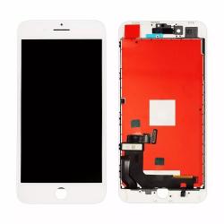 Дисплей iPhone 8 Plus с тачскрином и рамкой белый